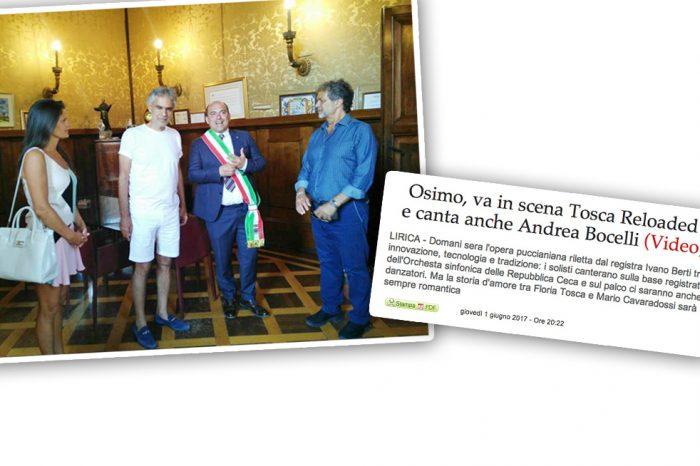 FRATELLI D'ITALIA, L'ITALIA S'È<br> DESTA PER BOCELLI UN BEL SONNELLINO IN CAMERINO!