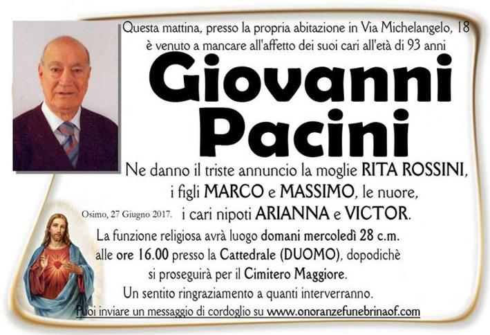 <span>Pacini Giovanni-Osimo</span>