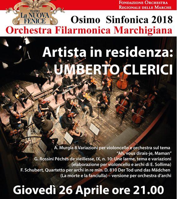 26 aprile 2018 - Umberto Clerici