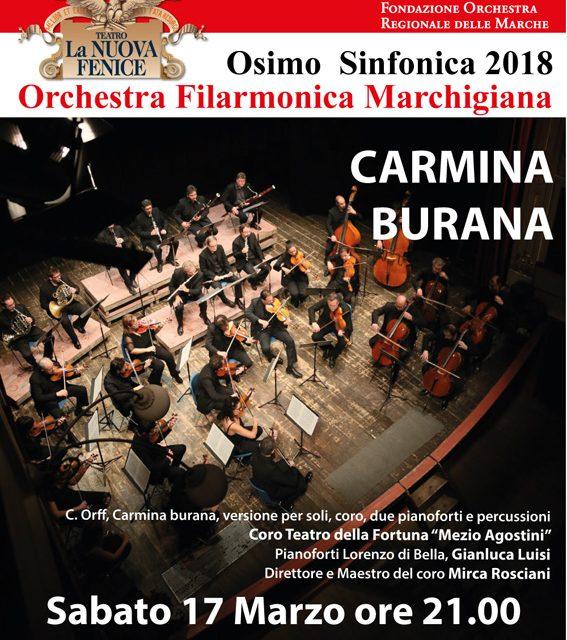 17 marzo 2018 - Carmina Burana
