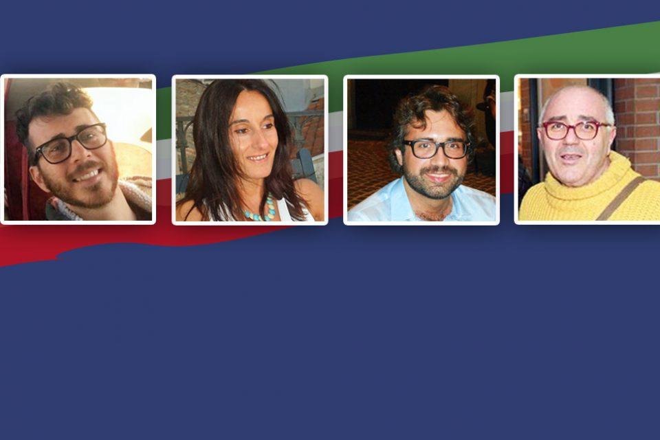 QUATTRO GLI OSIMANI IN BALLO:<br> PAOLO GIULIODORI (5 STELLE)<br> ARGENTINA SEVERINI (LEU)<br> FABIO PASQUINELLI (POTERE AL POPOLO)<br> LUCA CANALINI (CASA POUND)