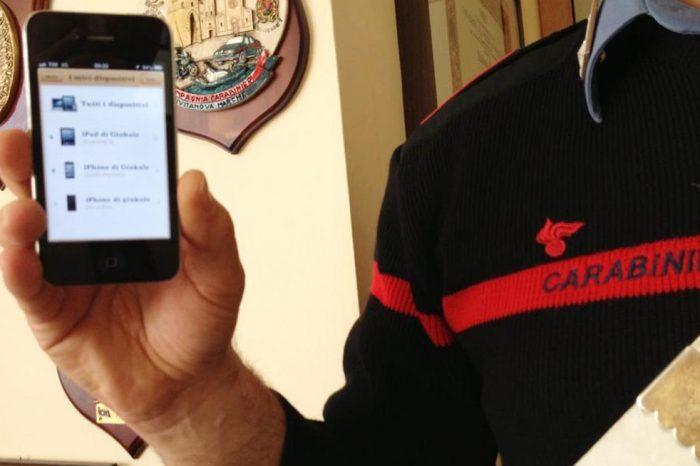 MINORENNE TENTA IL FURTO DI UN IPHONE 6<br> DALLO SPOGLIATOIO DI UNA SCUOLA DI DANZA