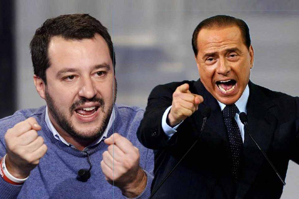 A 3 GIORNI DAL VOTO<br> DECISIVO IL RISULTATO AL SUD<br> TRA FORZA ITALIA E LEGA
