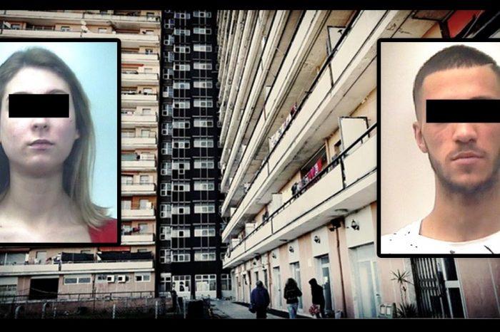 CARABINIERI IN TRASFERTA ALL'HOTEL HOUSE<br> PIZZICATA COPPIA CON MEZZO CHILO DI MARIA