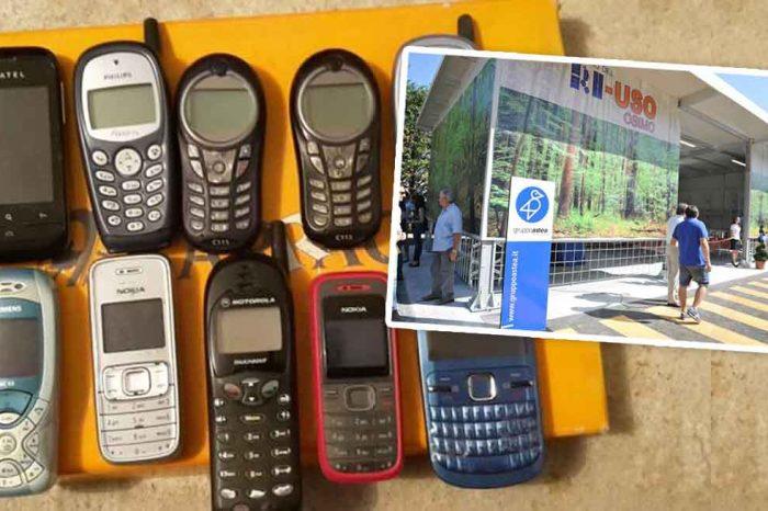 ASTEA IGIENE DONA AI PROPRI DIPENDENTI<br> UN CENTINAIO DI VECCHI TELEFONINI!