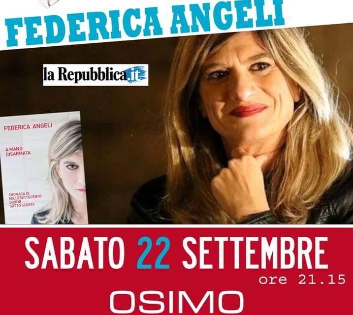 22 settembre 2018 - Federica Angeli - Giornalismo d'inchiesta