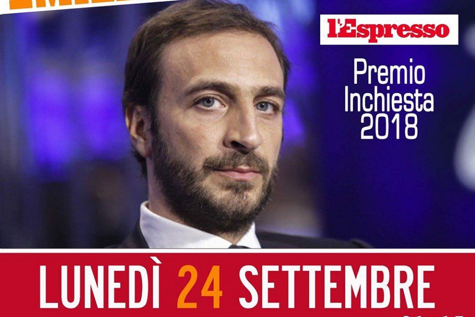 24 settembre 2018 - Emiliano Fittipaldi - Giornalismo d'inchiesta