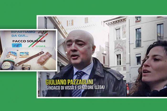 VISSO, 119.806,20 EURO DI DONAZIONI PRIVATE<br> FINITI NELLE SCATOLE CINESI DI PAZZAGLINI?